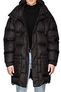 IENKI IENKI Men's Double-Hood Long Down Parka - Black