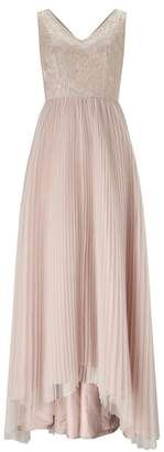 Adrianna Papell Sequin Tulle Dress