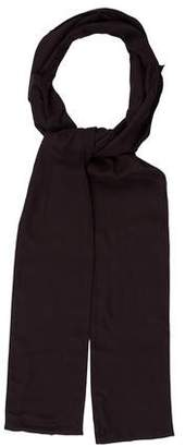 Ann Demeulemeester Solid Collared Scarf