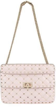 Valentino Medium Python Rockstud Spike Shoulder Bag