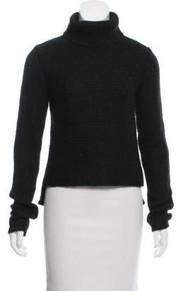 Alexander Wang High-Low Turtleneck Sweater