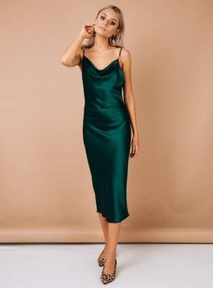 Betta Vanore Maxi Dress Forrest Green