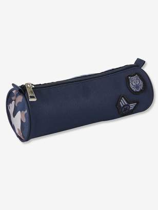 Vertbaudet Pencil-Case with Camouflage Motif, for Boys
