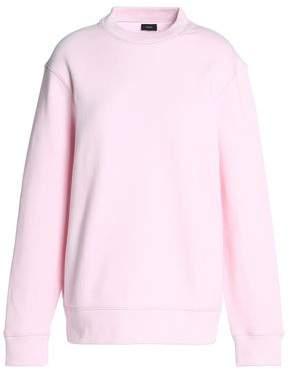 Joseph Cutout French Cotton-Terry Sweatshirt