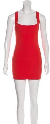 Plein Sud Jeans Sleeveless Mini Dress w/ Tags