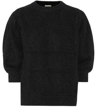 Caroline Constas June angora-blend sweater