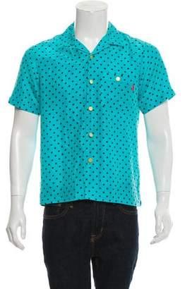 Supreme Silk Polka Dot Shirt w/ Tags