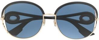Christian Dior tinted sunglasses