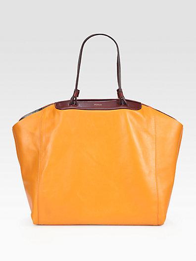 Saks Fifth Avenue Furla Exclusively for Regina Large Shopper