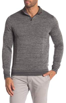 Ted Baker 1\u002F4 Zip Quilted Pullover
