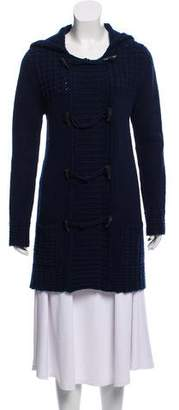 Calypso Hooded Wool Cardigan