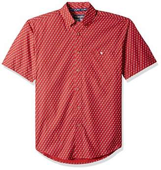 Wrangler Men's Big & Tall George Strait Short Sleeve Button Shirt