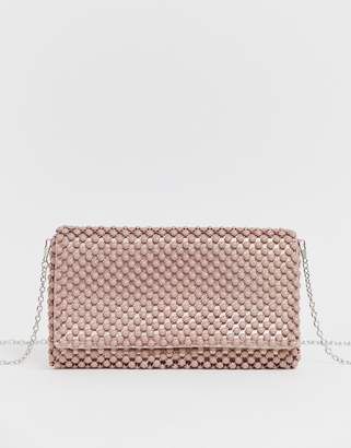 820c63f0a7 New Look beaded occasion clutch in light pink