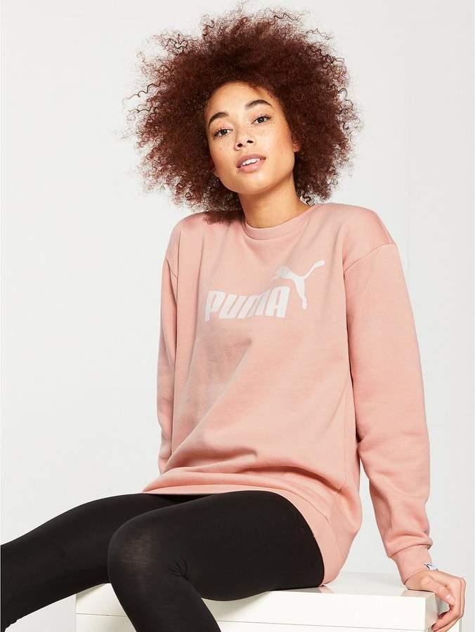 Essentials No.1 Crew Sweater - Peach