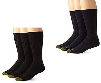 Gold Toe Men's Premium Canterbury Dress Crew Socks