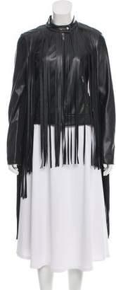 DKNY Fringe Casual Jacket