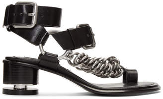 Alexander Wang Black Jada Sandals