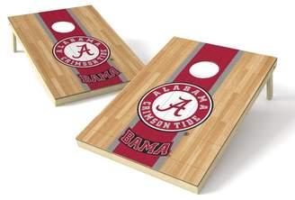 Tailgate Toss NCAA Hardwood Cornhole Game Set