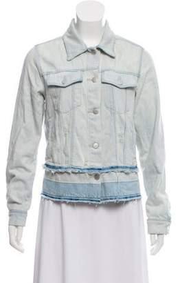 J Brand Distressed Jean Jacket