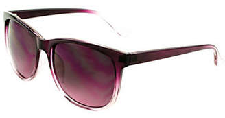 Lord & Taylor DESIGN LAB Faded 55mm Butterfly Sunglasses