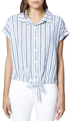Sanctuary Borrego Striped Tie-Waist Top