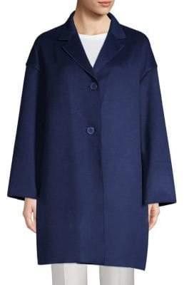Lafayette 148 New York Cambrie Cashmere Coat