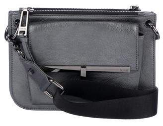Botkier Metallic Leather Crossbody Bag