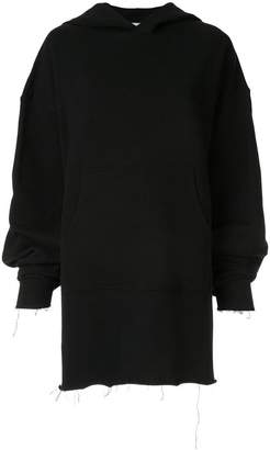 Dondup oversized hooded sweatshirt