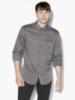 John Varvatos Roll-Up Sleeves Shirt