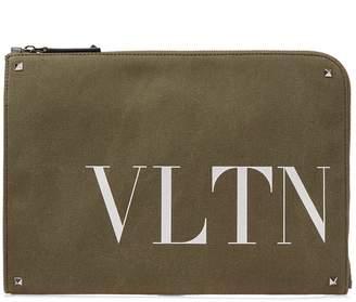 Valentino VLTN Army Document Case