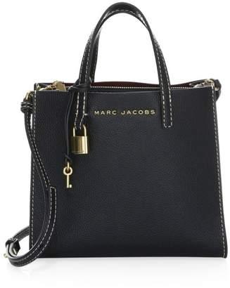 Marc Jacobs Mini Grind Stone Leather Satchel