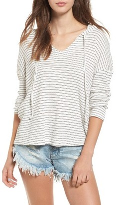 Women's Roxy Lovely Aside Stripe Pullover $44.50 thestylecure.com