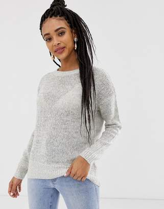 New Look sweater in gray