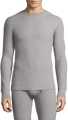 ST. JOHN'S BAY Classic Mid Weight Waffle Thermal Top