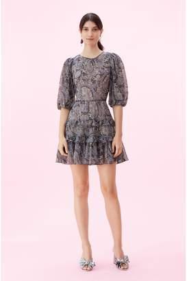 Rebecca Taylor Selene Paisley Voile Dress