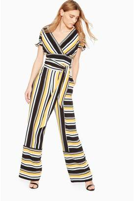 Parker Wrenn Stripe Wide Leg Pant