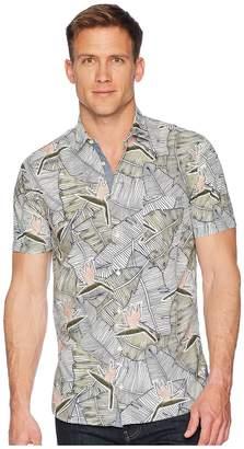 BOSS ORANGE Cattitude-1 Short All Over Palm Print Men's Clothing