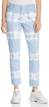 Blank NYC BLANKNYC Tie-Dye Straight-Leg Jeans in Blue/White - 100% Exclusive