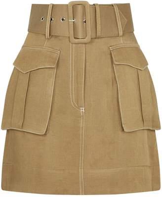 Shona Joy Belted Ellington Skirt
