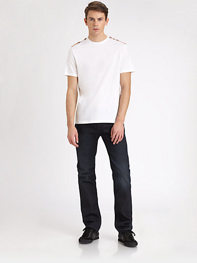 Burberry Shoulder Check Tee
