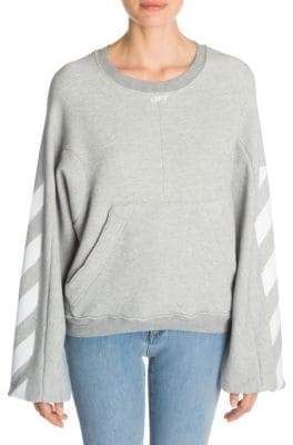 Off-White Diagonal Stripes Sweatshirt