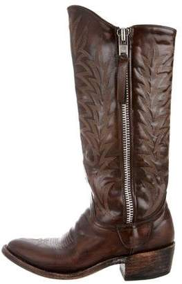 Old Gringo Distressed Mid-Calf Boots