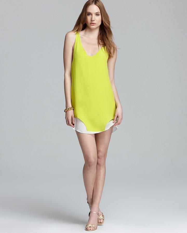 LnA Dress - Silk Neptune