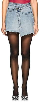 Ksubi Women's Rap High-Rise Denim Skirt
