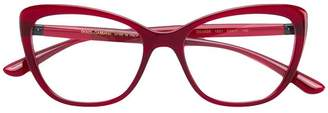 Dolce & Gabbana Eyewear cat-eye metal embellished glasses