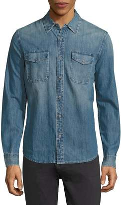 AG Jeans Men's Benning Denim Regular-Fit Shirt