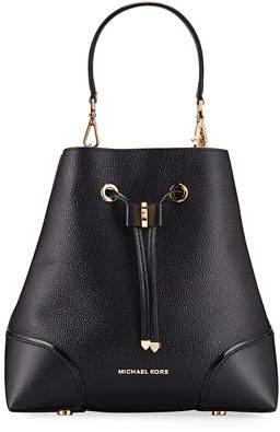 MICHAEL Michael Kors Mercer Gallery Medium Bucket Shoulder Bag