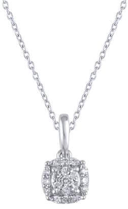 Carriere JEWELRY Pave Pendant Necklace