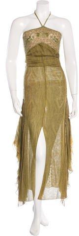 Silk evening dress australia