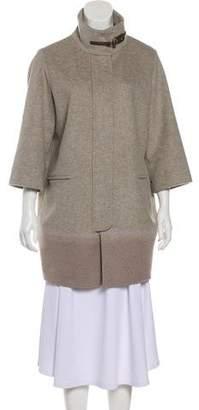 Fabiana Filippi Virgin Wool Ombré Coat